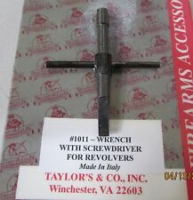 Taylor's & Co. Wrench W/Screwdriver for Revolvers