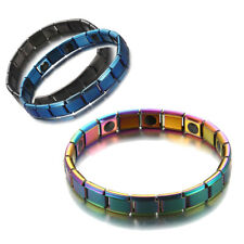 Health MENS MAGNETIC BRACELETS Bangle Cuff Arthritis Pain Relief Therapy Healing
