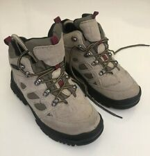 Itasca Women's Congo Hiker Boot 457704 Waterproof Stone Size 7.5 M (Used Once)