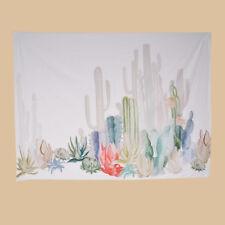 Wandbehang Kaktus Wandteppich 150x130cm Saunatuch  Badetuch Neu Deko Strandtuch
