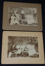 ANTIQUE PICNIC /CAMPING /STRONG MAN /CANADIAN BREWING (BEER) CABINET PHOTO (2)