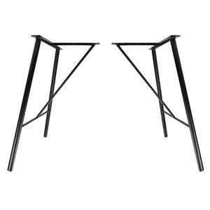 2x Tischgestell Tischbeine filigrane Hairpin Legs Metall Esstisch Schreibtisch