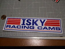 CAMS ISKY PERFORMANCE Stickers / Decal  Automotive OLD STOCK GLOSSY MEDIUM