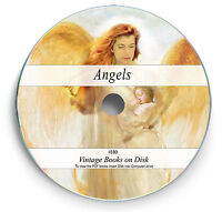 Rare Angels Angelology Antique Books on DVD - Bible Archangel Evil Demons Art H0