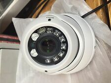 HD TVI 1080P Dome Metal Camera 2.4MP HDTVI Sony CMOS, Motorized lens 2.8-12mm w/