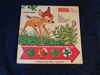 Bambi Per Walt Disney Più Pagine Profumati D Volte Antico Vintage 1975