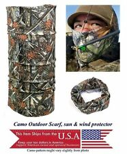 Camo Outdoor  Sports Wind UV Protection Sun Scarf  Buff Baclava  Gift