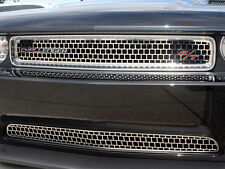 Grille Overlay Upper Main Polished 2008-2014 Dodge Challenger ACC PN 152014