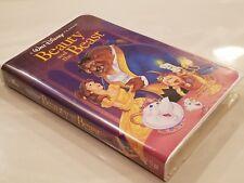 Rare #1325 Beauty And The Beast VHS Black Diamond Classic Walt Disney 1992