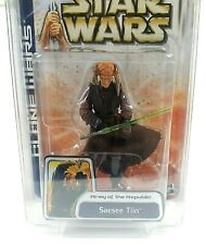 Saesee Tiin #51 STAR WARS: THE CLONE WARS  With Protector Sealed 2003