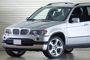 BMW X5 E53 ( 1999-2003 ) RAJOUT DE PARE CHOC AVANT /JUPE AVANT STYLE 4.6is