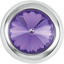 Gp05-68 Interchangeable Jewelry Snap. New! Petite Ginger Snaps Ice - Purple