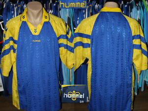 Vintage 1990's Style Hummel Football Soccer Jersey Shirt Camiseta Trikot Senior