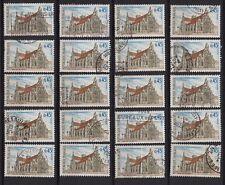 K88* Lot Timbres Oblitérés n°1583 1969 (BOURG-EN-BRESSE) x20 pour étude