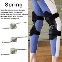 6Pcs Power Knee Stabilizer Pad Lift Joint Support Powerful Rebound Spring Force