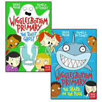 Pamela Butchart Wigglesbottom Primary Collection 2 Books Set The Toilet Ghost NE
