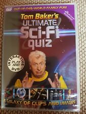 Tom Baker's Ultimate Sci-Fi Quiz Interactive DVD  New Sealed