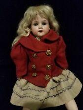 Antique German Armand Marseille Shoulderhead Bisque Doll, A.M. 370