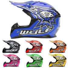 Wulfsport CUB Flite CHILDRENS Kids MOTOCROSS MX HELMET Off Road Quad ATV Enduro