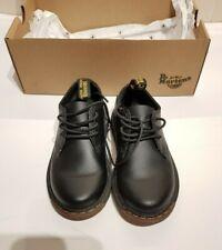 Dr.Martens Airwair Smart Boys Black Leather School Shoes, UK10, EU28 BNWT Nice!!