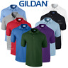 Gildan MEN'S PIQUE POLO SHIRT GOLF TENNIS CASUAL PREMIUM COTTON COLLAR WORKWEAR