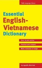 Essential English-Vietnamese Dictionary: T-Ien Anh-Viet (Tuttle Language