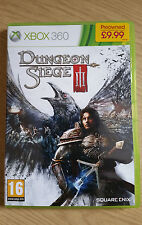 Dungeon Siege III (3) - Xbox 360 - Game - PAL - Complete