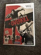 Jeu Nintendo Wii WiiU The House Of The Dead Overkill