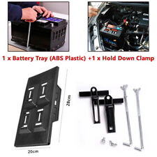 "Storage Battery Holder Hold Down Tray Adjustable Stabilizer Bracket 5.31-7.87"""