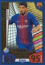 Match Attax Ligue des champions 17/18-le2g-Luis Suarez-Limited Edition Gold