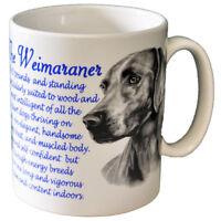 Weimaraner - Ceramic Coffee Mug - Dog Origins Breed