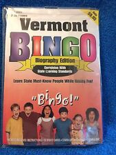 VERMONT BINGO BIOGRAPHY EDITION:  GALLOPADE INTERNATIONAL