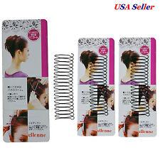 12 pcs Wholesale Invisible Comb Hair Clip Headband Black DIY
