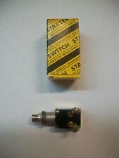 1-SUNTEX FS-ST02 MOMENTARY CHROME 2-PRONG PUSH BUTTON STARTER SWITCH  NEW IN BOX