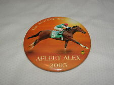 RARE AFLEET ALEX HORSE RACING BUTTON PIN ALEX LEMONADE STAND PREAKNESS STAKES