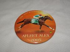 RARE AFLEET ALEX HORSE RACING BUTTON PIN ALEX LEMONADE STAND PREAKNESS STAKES