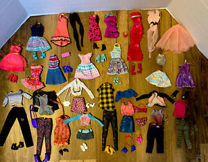 Barbie Doll Clothes Shoes Accessories Lot