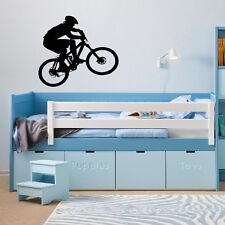 Mountain Bike Wall Art Vinile Adesivo Decalcomania Grafica XL 25 pollici di larghezza