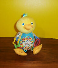 Eric Carle Plush Duck Hanging Activity Toy Chimes Stroller Car Seat