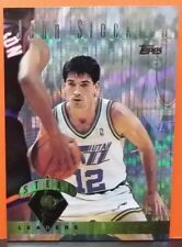 John Stockton card Power Boosters 95-96 Topps #24