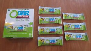(17) Orgain Kids O Bars Chocolate Chip 1.27 Oz Each Energy USDA Organic #7