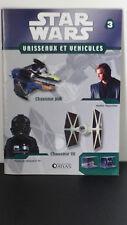 Star Wars - Chasseur Jedi + Chasseur TIE  - N°3  -2007 -neuf - Atlas