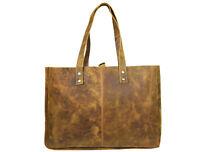 Buffalo Leather Tote Bag Women Purse Wallet Shoulder Bags Travel Handbags Large