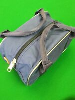 Crown Green Quality Nylon Zip Bowling Bag For 2 Balls Bowls Carrier With Handles