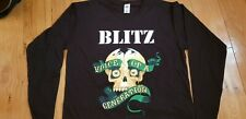 Blitz - Voice of a Generation - Long Sleeve, Black, Printed Tee