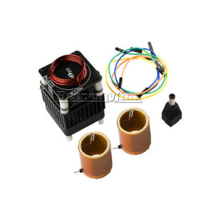 Hfsstc High Frequency Tesla Coil DIY Kit Electronic Candle Plasma Flame DC36-48V