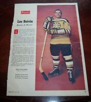 Leo Boivin January 23 1960 Perspectives  Magazine / Star Weekly weekend #4