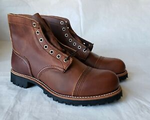 Super Rare 1st. Red Wing x Brooks Brothers 4556 Heritage Iron Ranger Boots 11.5D