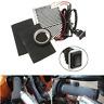 Kit Universale Moto Manubrio Caldo Manopole Riscaldate Grip Interruttore 12V