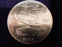 """10 Mark DDR Gedenkmünze """"25 Jahre NVA"""" 1981"""
